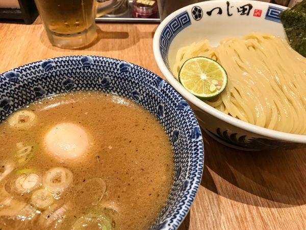 「濃厚つけ麺 味玉」@めん徳 二代目 つじ田 福岡空港店の写真