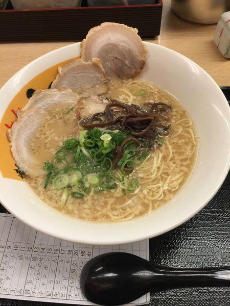 「博多チャーシューめん 913円」@博多らぁめん ふくちゃん 千葉幸町店の写真