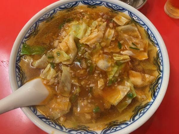 「担々麺670円(今週のサービス100円引き)」@四川一貫の写真