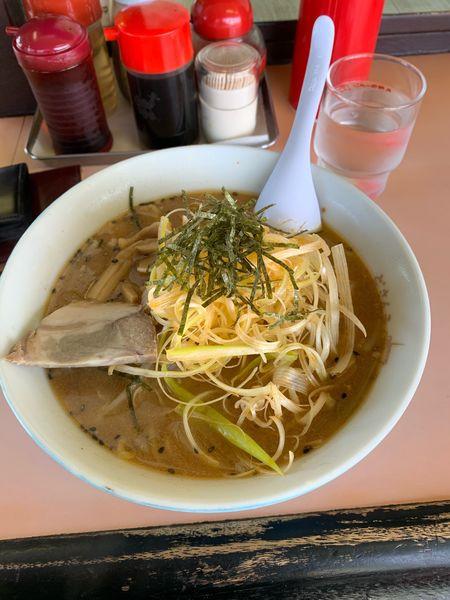 「ネギ味噌ラーメン」@札幌ラーメンどさん子 いわき鹿島店の写真