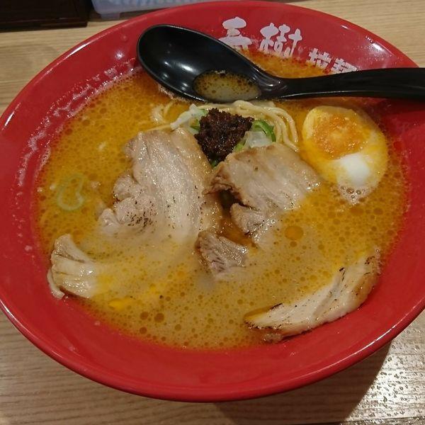 「えび豚骨拉麺」@横浜家系らーめん 春樹 中村橋店の写真
