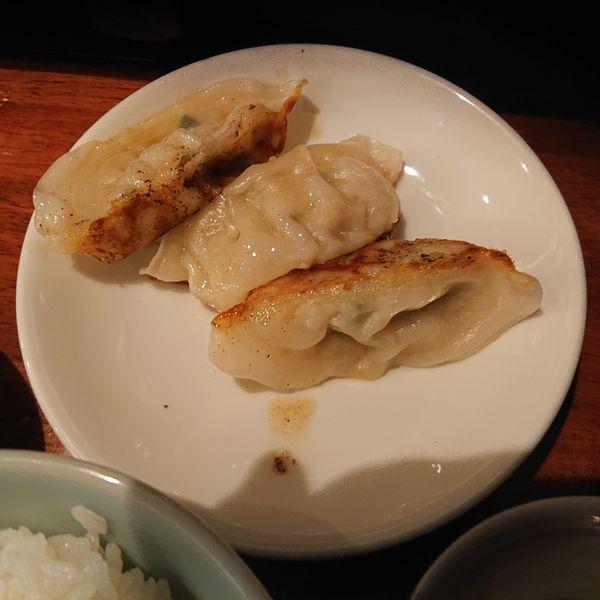 「餃子セット200円」@麺侍 誠の写真