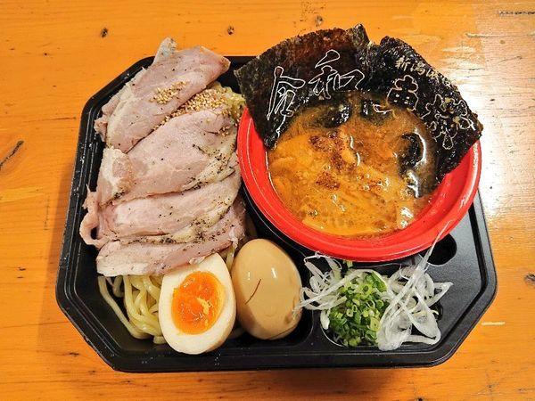 「【東横】濃厚みそつけ麺+トッピング全部」@大つけ麺博 美味しいラーメン集まりすぎ祭の写真