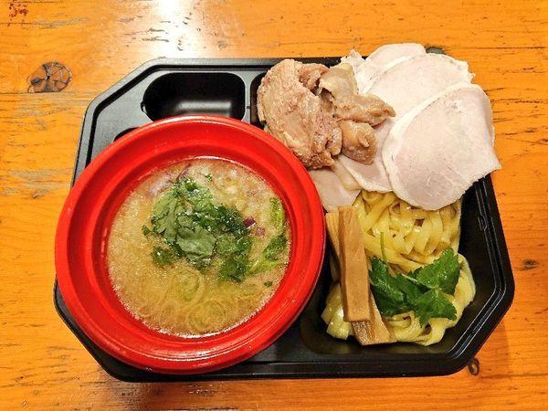 「【桃の木】超真鯛の濃密塩つけ麺+トッピング全部のせ」@大つけ麺博 美味しいラーメン集まりすぎ祭の写真