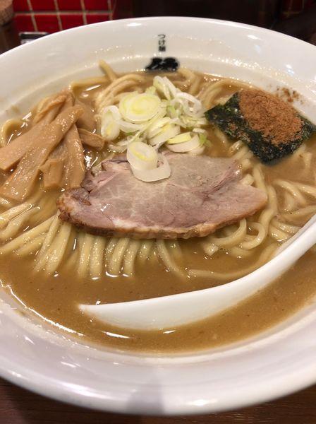 「ラーメン」@つけ麺 紋次郎 大阪駅前第二ビル店の写真