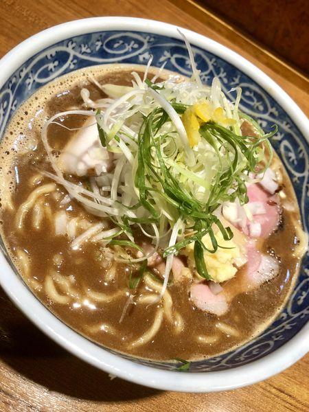 「【限定】鮪と鰤のみそら〜めん ¥880」@寿製麺よしかわ 川越店の写真