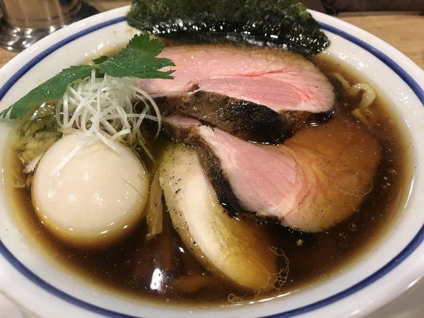 「特製中華そば醤油 1,100円」@手打式 超多加水麺 ののくらの写真