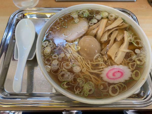「ラーメン800円+玉子80円」@一ツ橋 大勝軒の写真