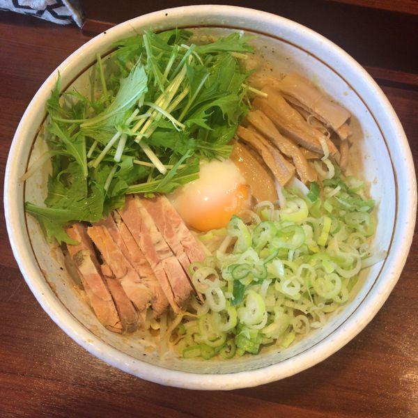 「こってり 汁なし 750円」@麺屋 旬の写真