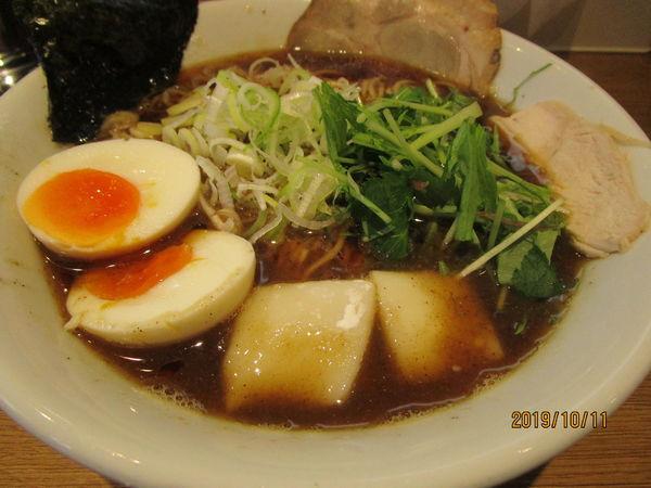 「淡麗醬油味玉 900円」@桔梗と空の写真