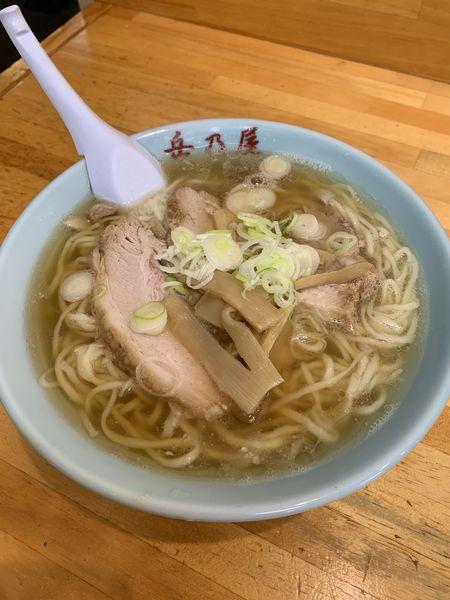 「ラーメン 大盛 760円」@青竹手打麺 餃子 岳乃屋の写真