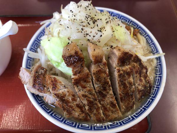 「富士nikuマンラーメン 醤油」@優勝軒 上尾店の写真