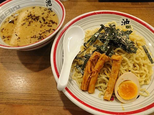「東京豚骨つけ麺(850円)」@屯ちん 池袋西口店の写真