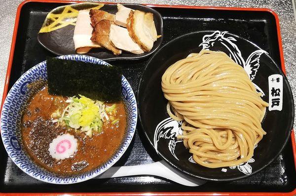 「濃厚つけ麺並」@松戸富田麺絆の写真