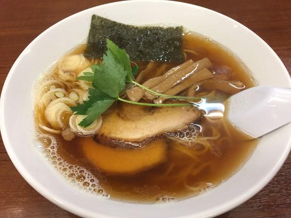 「醤油ラーメン:800円」@麺 こむさしの写真