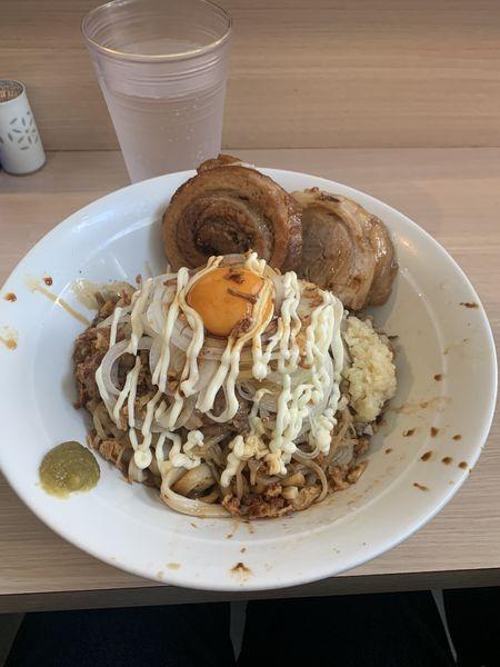 「汁なし」@麺屋 味方の写真
