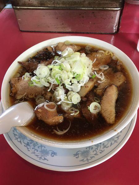 「チャーシュー多い麺 1,000円」@かし亀の写真