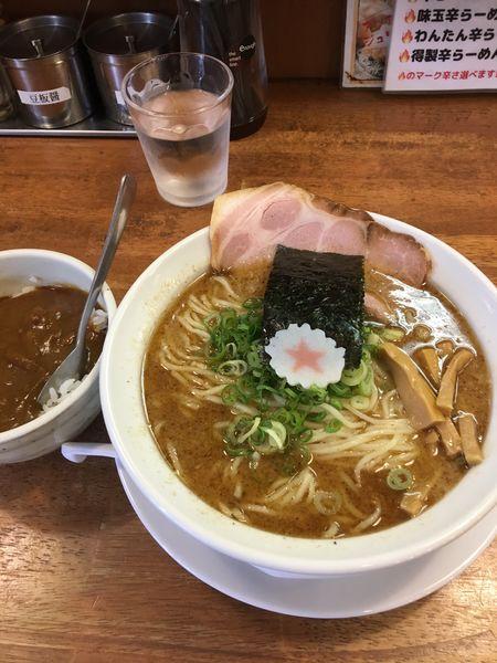 「らーめん濃厚魚介豚骨  780円」@麺匠うえ田の写真