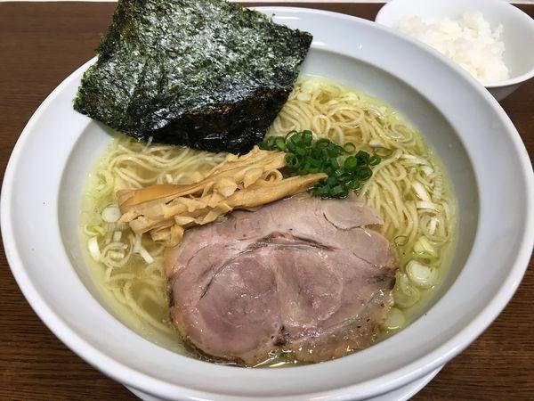 「あっさりしおラーメン 650円」@麺匠 もみじの写真