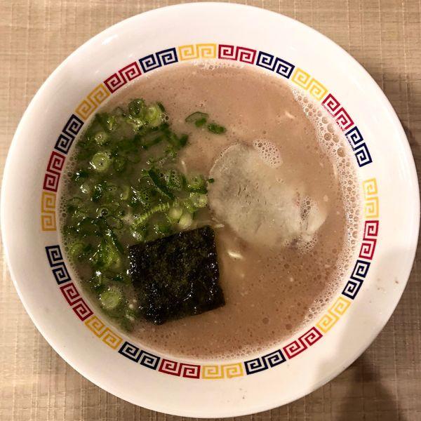 「ラーメン (450円)」@丸星ラーメン 善導寺店の写真