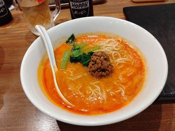 「担々麺(並盛・130g)750円」@陳麻家 高崎駅西口店の写真