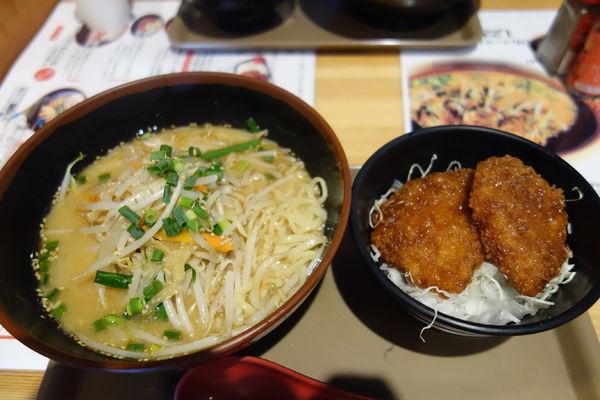 「西会津味噌ラーメンセット」@会津食のブランド館の写真