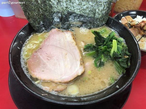 「塩チャーシューメン(3枚) (880円)」@家系ラーメン 王道 いしいの写真