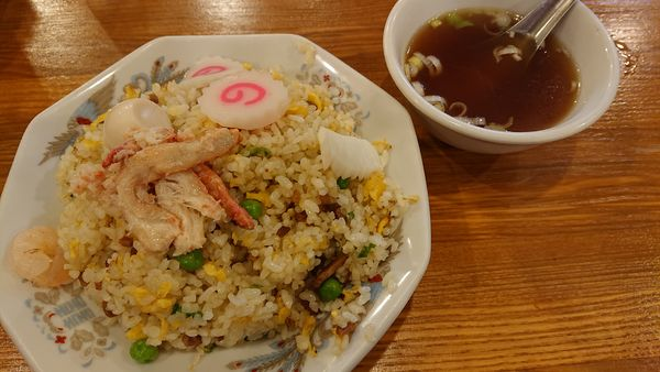 「五目チャーハン 630円」@龍王 本店の写真