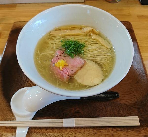 「柚子塩らぁ麺(800円)」@IRUCA-Tokyo-の写真