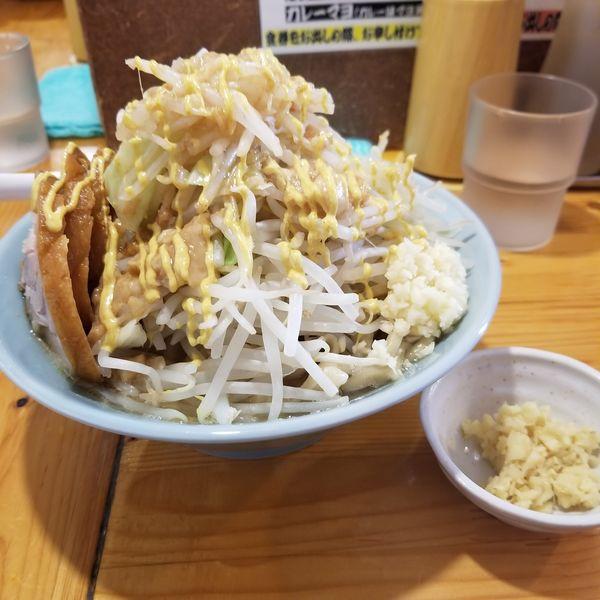 「豚増しラーメン+生姜」@ラーメン慶次郎 本店の写真