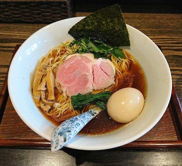 「味玉Ra-men濃口醤油(880円)」@メンドコロ Kinariの写真