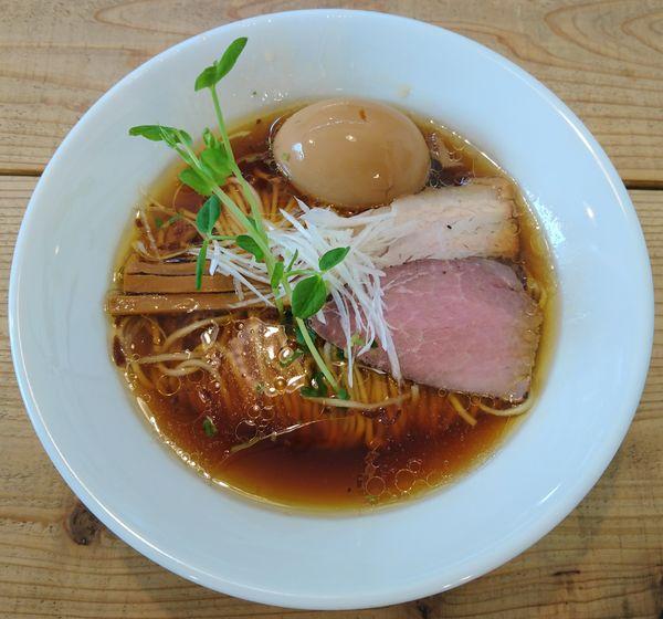 「味玉 kiri_soba 流山本みりん醤油」@The Noodles & Saloon Kiriyaの写真