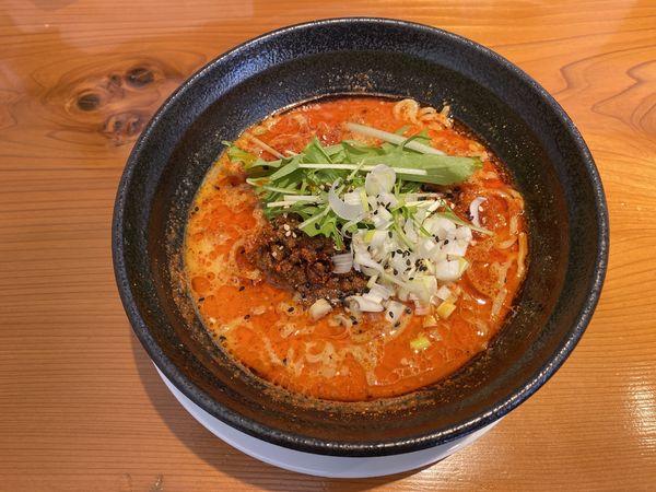 「坦坦麺(辛3)830円」@Hino担担麺 kokuuの写真