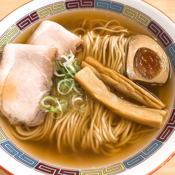 「煮干しらーめん ¥880」@煮干鰮らーめん 圓 名古屋大須店の写真