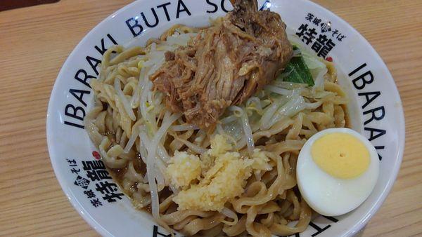 「ラーメン麺増し」@茨城豚そば 特龍 水戸堀町店の写真