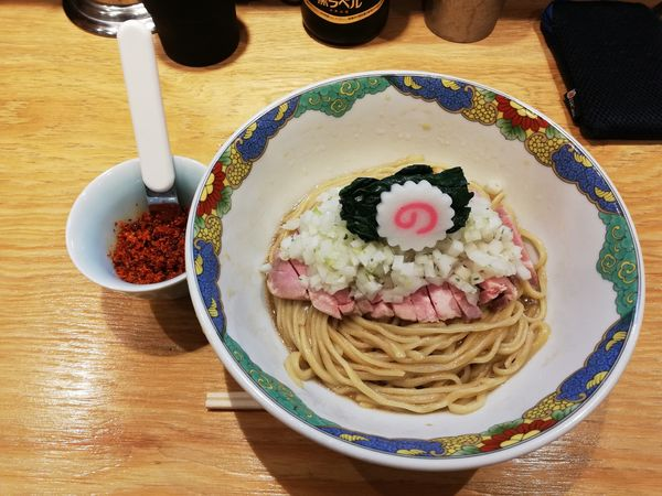 「限定油そば+辛味」@キング製麺の写真