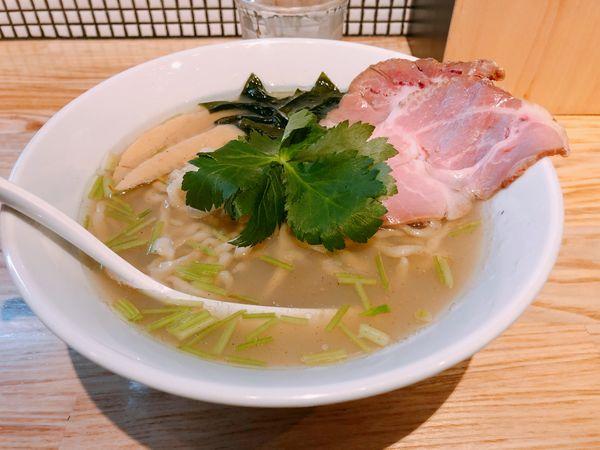 「貝塩ラーメン」@らーめん 改の写真