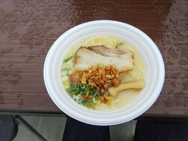 「ラーメン (麺処 若武者)」@つくばラーメンフェスタ2019の写真