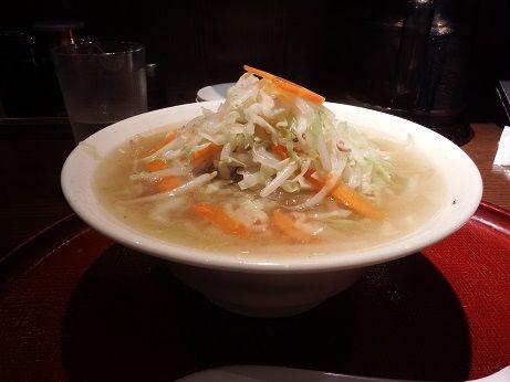 「タンメン~野菜260g~」@餃子とタンメン 天の写真