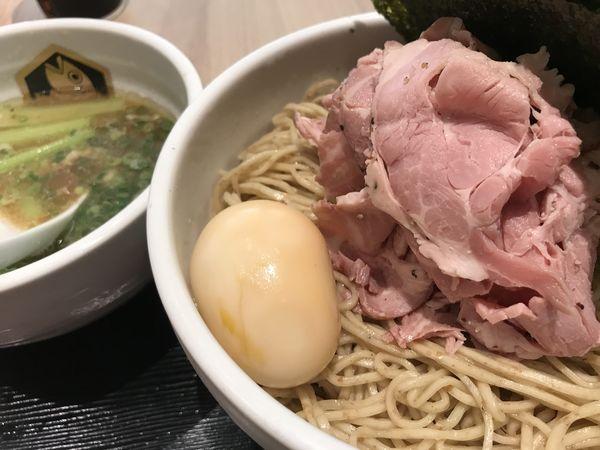 「特製真鯛つけ麺 1,170円 特盛 200円」@真鯛らーめん 麺魚 錦糸町PARCO店の写真