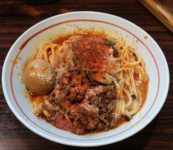 「汁なし担々麺」@らー麺 あけどやの写真