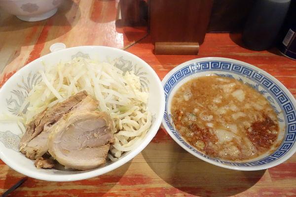 「小つけ麺 エビ味」@ラーメン二郎 会津若松駅前店の写真