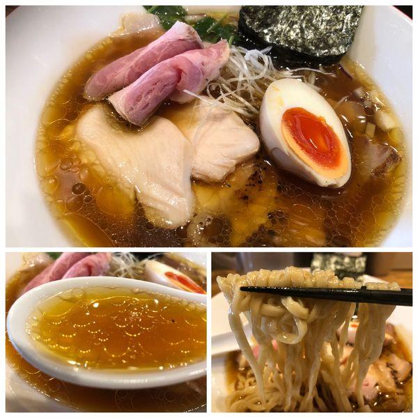 「特製生中華そば 1200円 手もみ麺」@Mari iidaの写真