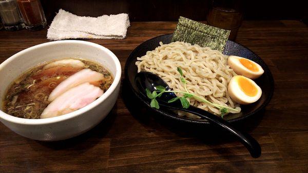 「特製つけ麺」@中華そば 西のの写真