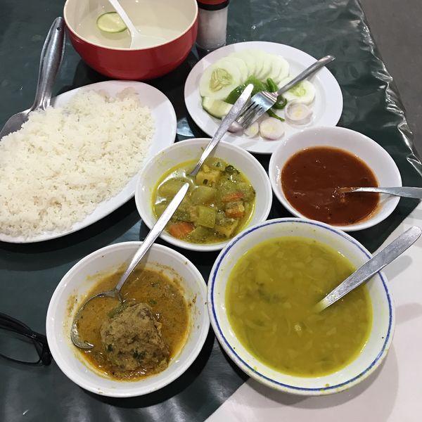 「Fish Curry」@Niribili Orchid Club & Restaurantの写真