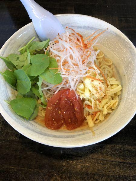 「まぜそば(チリトマト)」@麺屋KENJUの写真