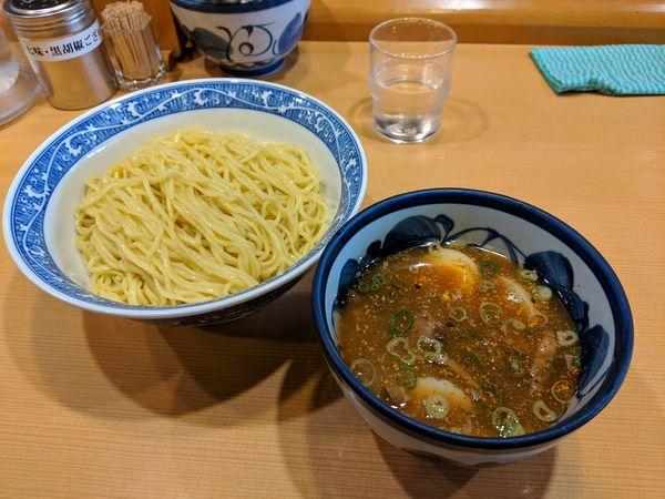 「特製つけ麺」@中華そば 青葉 つくば店の写真