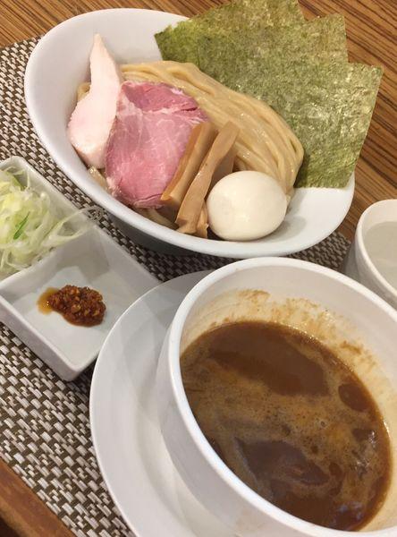 「特製つけ麺(中盛)」@つけ麺 和の写真