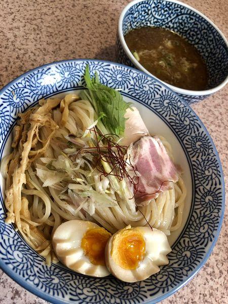 「【限定】秋刀魚のつけ麺 中 ¥870」@麺処 かつ善の写真