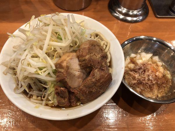 「ラーメン大アブネギタマ」@麺屋穴場の写真